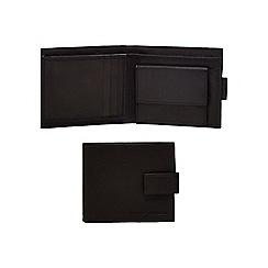 J by Jasper Conran - Black waxy tab wallet