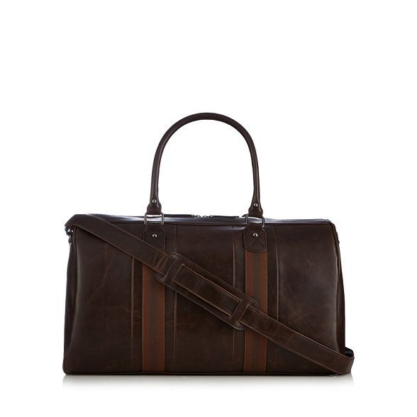 Red bag webbed holdall Brown Herring rxROwqrgA