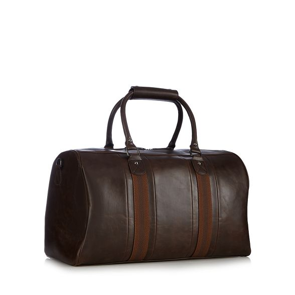 webbed Red bag holdall Brown Herring ZEqEFaxw