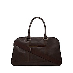 The Eighth - Brown 'Rupert' leather holdall bag