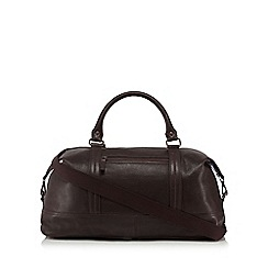 The Eighth - Brown 'Baxter' leather holdall bag