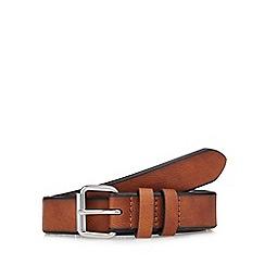 Red Herring - Brown leather belt
