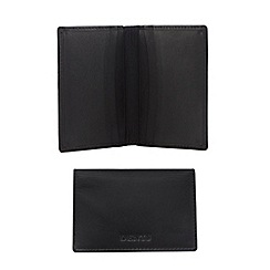 Dents - Black rfid smooth leather wallet