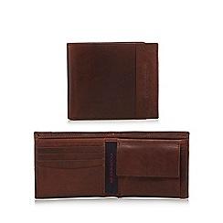 RJR.John Rocha - Brown leather panel wallet