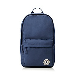 Converse - Dark blue logo detail backpack
