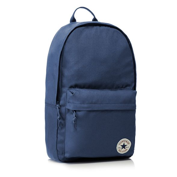 Converse logo blue backpack detail Dark gqrp8g