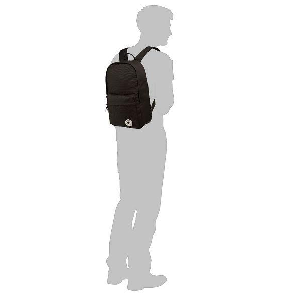 Black backpack Converse Converse detail Black logo BEYqXwBx