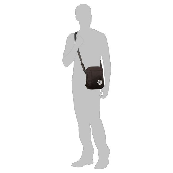 Black body Converse applique cross bag logo dIpqwpg