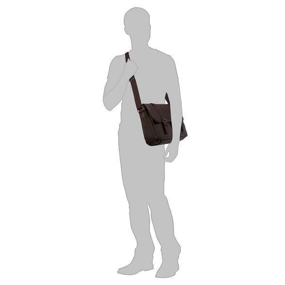 two Herring pocket Red Brown bag satchel EqgnA14nx