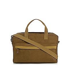 RJR.John Rocha - Natural canvas holdall bag