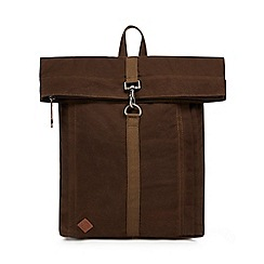 RJR.John Rocha - Khaki canvas backpack