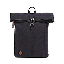 RJR.John Rocha - Navy canvas backpack