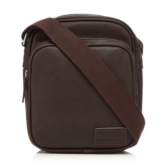 shoulder Herring bag Brown Red shoulder Brown Red Herring YxBUw