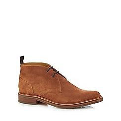 J by Jasper Conran - Tan suede 'Suki' Chukka boots