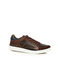 Red Herring - Brown 'Logan' trainers