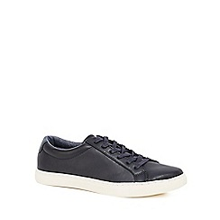 Red Herring - Navy 'Dylan' lace up trainers