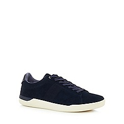Red Herring - Navy suede 'Grayson' trainers