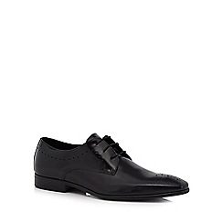 Jeff Banks - Black leather 'Rees' Derby shoes