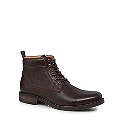 RJR.John Rocha - Brown leather 'Cascade' Chukka boots