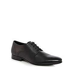 Jeff Banks - Black leather 'Kenilworth' Derby shoes