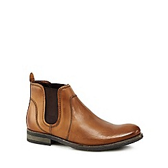 RJR.John Rocha - Tan leather 'Rowan' Chelsea boots