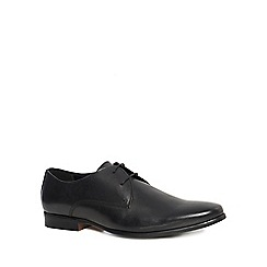 Red Herring - Black leather 'Pallas' Derby shoes