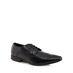 The Collection - Black 'Smith' Derby shoes