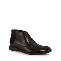 Hammond & Co. by Patrick Grant - Dark brown leather 'Goodge' chukka boots