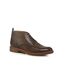 J by Jasper Conran - Brown 'Verona' chukka boots