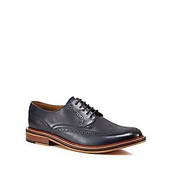 Hammond & Co. by Patrick Grant - Navy leather 'Balham' brogues