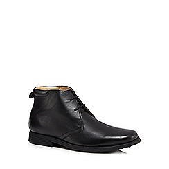 Henley Comfort - Black leather Chukka boots