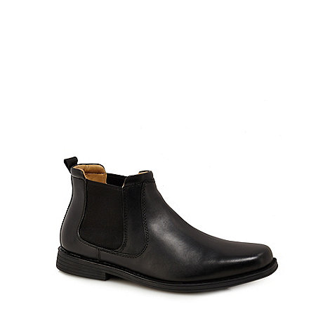 8972465dd7bb Henley Comfort Black leather Chelsea boots