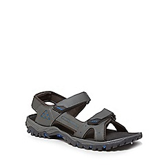 Mantaray - Grey 'Bismarck 2' sandals