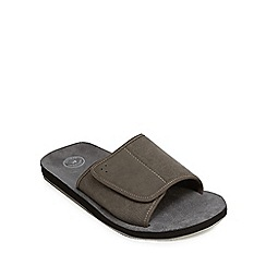 Mantaray - Grey 'Majorca' sandals