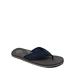Mantaray - Navy 'Kos' flip flops