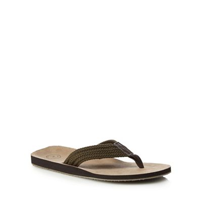 clearance 100% original get to buy cheap online Khaki 'Faliraki' flip flops clearance best store to get htWaPKjuh