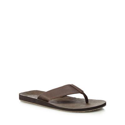 02a9cb719300 Mantaray Brown  Lanzarote  flip flops