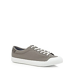 Red Herring - Grey canvas 'Lyon' trainers