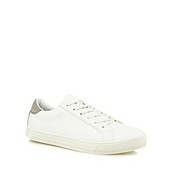 Red Herring - White 'Amiens' trainers