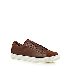Red Herring - Tan 'Toulouse' trainers