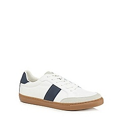 Red Herring - White 'Cannes' trainers