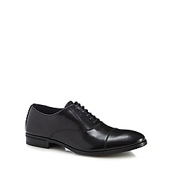 Hammond & Co. by Patrick Grant - Black leather 'Witney' Oxford shoes