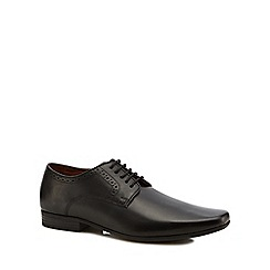 Jeff Banks - Black leather 'Blenheim' Derby shoes