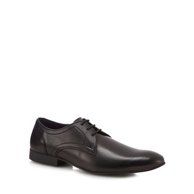 Red Herring - Black 'Ronnie' Derby shoes