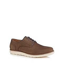 RJR.John Rocha - Brown leather 'Clove' Derby shoes