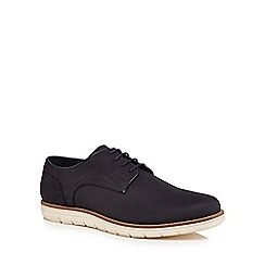 RJR.John Rocha - Navy leather 'Clove' Derby shoes