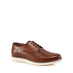 RJR.John Rocha - Tan leather 'Clove' Derby shoes