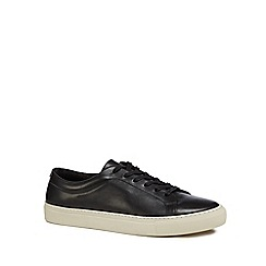 J by Jasper Conran - Black leather 'Sorrento' trainers