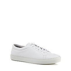 J by Jasper Conran - White leather 'Sorrento' trainers