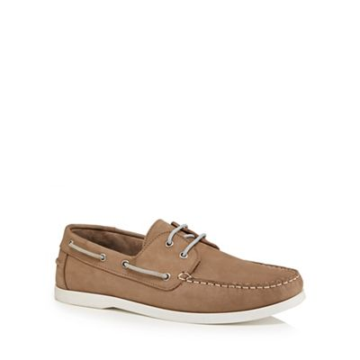 Hammond & Co. by Patrick Grant - Natural 'Yale' boat shoes